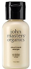 Düfte, Parfümerie und Kosmetik Haarspülung mit Zitrus und Neroli (Mini) - John Masters Organics Citrus & Neroli Detangle
