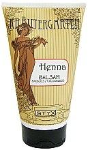 Düfte, Parfümerie und Kosmetik Haarspülung für glänzendes, geschmeidiges und leicht kämmbares Haar farblos - Styx Naturcosmetic Henna Balsam