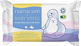 Düfte, Parfümerie und Kosmetik Pflegende Feuchttücher für Babys 50 St. - Natracare Organic Cotton Baby Wipes