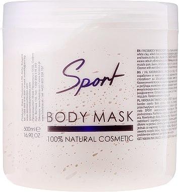 Gesichts- und Körpermaske Sport - Hristina Cosmetics Sezmar Professional Body Mask Sport — Bild N1