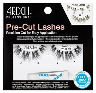 Künstliche Wimpern mit Wimpernkleber - Ardell Pre-Cut Demi Wipies Lashes — Bild N1