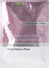 Düfte, Parfümerie und Kosmetik Beruhigende Gesichtsmaske - Bielenda Professional Soothing Solution Calming Sheet Face Mask