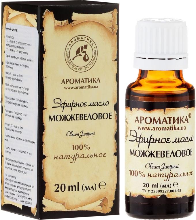 Ätherisches Bio Wacholderöl - Aromatika — Bild N3