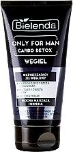 Düfte, Parfümerie und Kosmetik Gesichtsreinigungsgel - Bielenda Only For Men Carbo Detox Gel