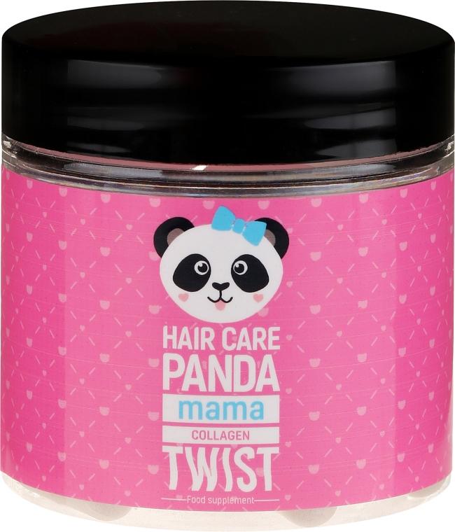 Nahrungsergänzungsmittel Meereskollagen für gesundes Haar nach der Schwangerschaft - Noble Health Hair Care Panda Collagen Twist Mama — Bild N1