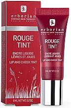Düfte, Parfümerie und Kosmetik Lippen- und Wangenfarbe - Erborian Rouge Tint
