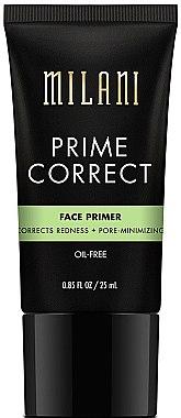 Porenminimierende Make-up Base - Milani Prime Correct Redness + Pore-Minimizing Face Primer — Bild N1