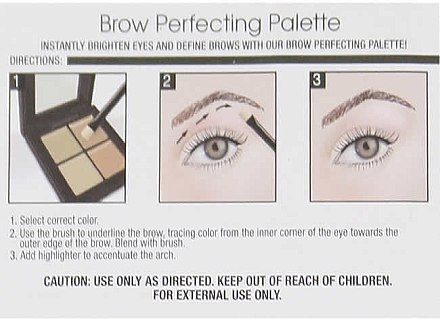 Augenbrauenhighlighter-Palette - Ardell Brow Perfecting Palette — Bild N3