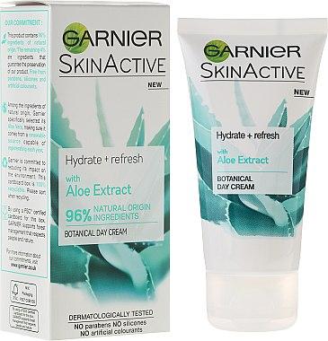 Tagescreme mit Aloeextrakt - Garnier SkinActiv Natural Aloe Extract Moisturiser Normal Skin — Bild N1