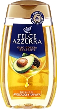 Düfte, Parfümerie und Kosmetik Duschöl mit Avocado- und Papaya-Öl - Felce Azzurra Shower Oil