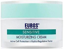 Düfte, Parfümerie und Kosmetik Feuchtigkeitsspendende Gesichtscreme für empfindliche, normale bis trockene Haut - Eubos Med Sensitive Moisturizing Cream