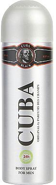 Cuba Black - Deospray Antitranspirant — Bild N2