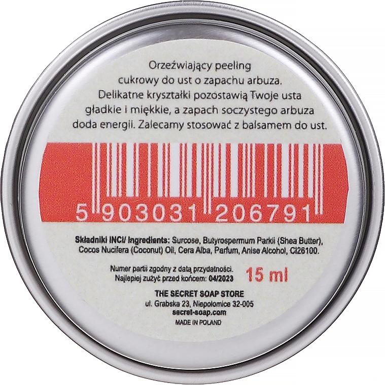 Lippenpeeling Wassermelone - The Secret Soap Store Lip Peeling — Bild N2