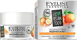 Düfte, Parfümerie und Kosmetik Natürliche Gesichtscreme mit Camu-Camu und Orange - Eveline I Love Vegan Food Face Kream