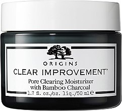 Düfte, Parfümerie und Kosmetik Feuchtigkeitsspendende Gesichtscreme gegen Akne und Mitesser mit Bambuskohle und 1% Salicylsäure - Origins Clear Improvement Pore Clearing Moisturizer With Bamboo Charcoal