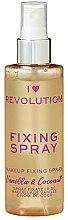 Düfte, Parfümerie und Kosmetik Make-up-Fixierer - I Heart Revolution Fixing Spray Vanilla Bean & Coconut