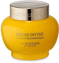 Düfte, Parfümerie und Kosmetik Feuchtigkeitsspendende Anti-Aging Gesichtscreme mit Immortellenöl - L'Occitane Divine Cream