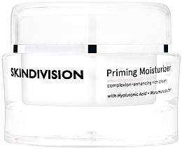 Düfte, Parfümerie und Kosmetik Feuchtigkeitsspendender Gesichtscreme-Primer mit Hyaluronsäure und Murumuru-Butter für glatte und strahlende Haut - SkinDivision Priming Moisturizer