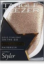 Kompakte Haarbürste mit Glitzer - Tangle Teezer Compact Styler Glitter Gold — Bild N5