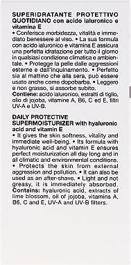 Set - Collistar Daily Protective Supermoisturizer (cr/50ml + cr/15ml) — Bild N3