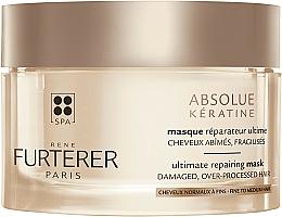 Düfte, Parfümerie und Kosmetik Intensiv regenerierende Maske für strapaziertes und geschwächtes Haar - Rene Furterer Absolue Keratine Ultimate Repairing Mask