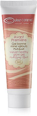 Mattierende Tönungs-Make-up Base - Couleur Caramel Velvet Healthy Glow Gel — Bild N1