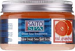 Düfte, Parfümerie und Kosmetik Salzpeeling für den Körper mit rotem Grapefruitduft - Saito Spa Salt Body Scrub Red Grapefruit