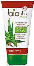 Düfte, Parfümerie und Kosmetik Beruhigende und nährende Körperlotion mit Aloe Vera - Biopha Nature Baume Riche