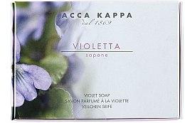 Düfte, Parfümerie und Kosmetik Parfümierte Körperseife mit Veilchen - Acca Kappa Violetta