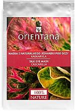 Düfte, Parfümerie und Kosmetik Augenmaske mit Kaskarilla-Extrakt - Orientana Eye Silk Pad Cascarilla