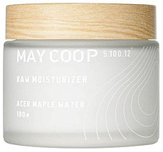 Düfte, Parfümerie und Kosmetik Feuchtigkeitsspendende Gesichtscreme mit Ahornwasser - May Coop Raw Moisturizer