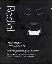 Düfte, Parfümerie und Kosmetik Glättende Halsmaske - Rodial Neck Masks Individual Sachets