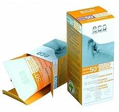 Düfte, Parfümerie und Kosmetik Sonnenschutzcreme mit Granatapfel- und Sanddorn-Extrakt SPF 50+ - Eco Cosmetics Suntan Cream SPF 50+