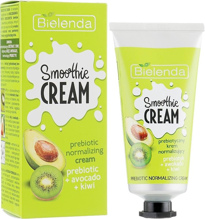 Normalisierende Gesichtscreme mit Avocado und Kiwi - Bielenda Smoothie Cream Avocado And Kiwi — Bild N1