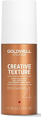 Cremige Haarpaste mit Matt-Effekt - Goldwell Style Sign Creative Texture Roughman Matte Cream Paste — Bild N1