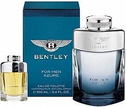 Düfte, Parfümerie und Kosmetik Bentley Bentley For Men Azure - Duftset (Eau de Toilette/100ml + Eau de Toilette/7ml)