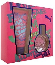 Düfte, Parfümerie und Kosmetik Puma Jam Woman - Kosmetikset (Eau de Toilette/20ml + Duschgel/50ml)