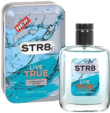 STR8 Live True - After Shave Lotion — Bild N1