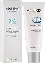 Düfte, Parfümerie und Kosmetik Antioxidative Gesichtscreme mit Extrakten aus roten Früchten - Anubis Spa Red Fruit Cream