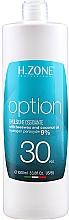 Düfte, Parfümerie und Kosmetik Oxydant Creme 9% - H.Zone Option Oxy 30 Vol.