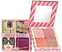 Düfte, Parfümerie und Kosmetik Rougepalette - Benefit Cosmetics Benefit World O' Blushes