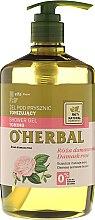 Düfte, Parfümerie und Kosmetik Erfrischendes Duschgel mit Damastrosenextrakt - O'Herbal Toning Shower Gel
