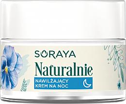 Düfte, Parfümerie und Kosmetik Feuchtigkeitsspendende Nachtcreme - Soraya Naturalnie Night Cream