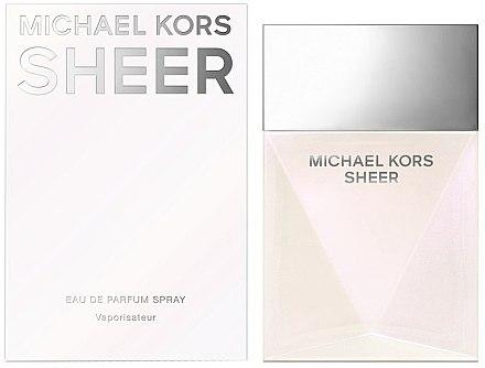 Michael Kors Sheer 2017 - Eau de Parfum — Bild N1