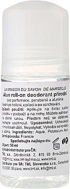Deo Roll-on Alaunstein - La Maison du Savon de Marseille Pierre D'alun Deodorant — Bild N1