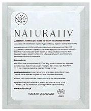 Düfte, Parfümerie und Kosmetik Beruhigende und feuchtigkeitsspendende Peel-Off Gesichtsmaske mit Bio Reispulver - Naturativ Face Mask