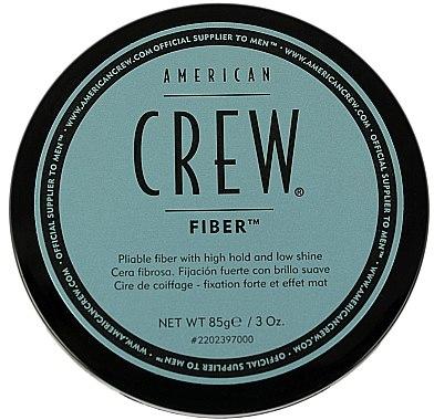 Modellierende Haarpasta mit starkem Halt und Matt-Effekt - American Crew Classic Fiber — Bild N3