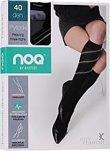 Düfte, Parfümerie und Kosmetik Damenkniestrümpfe mit entspannender Wirkung 40 Den nero - Knittex