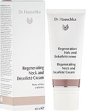 Düfte, Parfümerie und Kosmetik Regeneration Hals und Dekolletécreme für anspruchsvolle, reife Haut - Dr. Hauschka Regerating Neck and Dekolleté cream