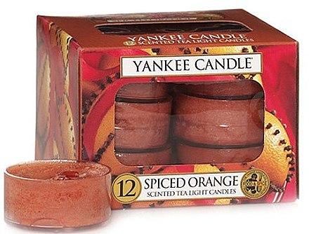 Teelichter Spiced Orange - Yankee Candle Spiced Orange Tea Light Candles — Bild N1